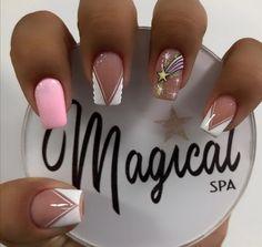 Diy Acrylic Nails, Short Nails, Manicure, Nail Art, Beauty, Bling Nails, Toe Nail Art, Gel Nail Polish, Gel Acrylic Nails