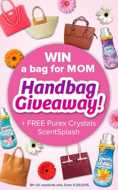 Surprise Mom with a gorgeous designer handbag! Repin and click above to enter.