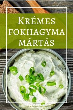 Egészséges receptek - fokhagyma mártás Hungarian Cuisine, Hungarian Recipes, Hungarian Food, Diet Recipes, Vegan Recipes, Cooking Recipes, Smoothie Fruit, Best Grilled Cheese, No Cook Meals