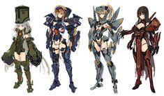 Fantasy Character Design, Character Concept, Character Art, Figuras Disney Infinity, Female Characters, Anime Characters, Pacific Rim Kaiju, Robot Girl, Animes Yandere