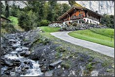 Suiza - Casitas de cuento - Lauterbrunnen | Flickr: Intercambio de fotos