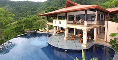 Mareas Estate 8 Bedrooms Playa Hermosa Costa Rica Luxury Vacation Rental- Have this world class 36-acre Villa surrounded by over 200 acres of wild life preserve all for your friends, family or as your personal retreat.