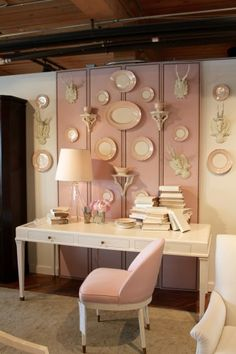 Donna S Blog High Point Market Spring 2017 Color Trends Blushing Pink Hickory Chair