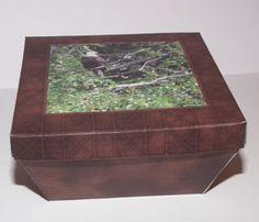 Don't Eat the Paste: Printable eagle box
