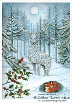 Yule Greetings by Faerie Craft.