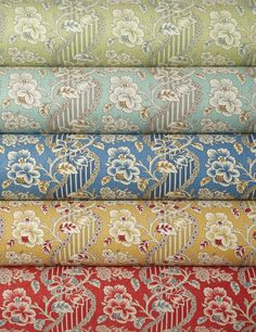 Textile Firm Brunschwig & Fils's Modern Take On Its Vintage Fabrics : Architectural Digest Fabric Rug, Fabric Wallpaper, Fabric Patterns, Print Patterns, Solid Color Backgrounds, Contemporary Fabric, Designers Guild, Gorgeous Fabrics, Vintage Textiles