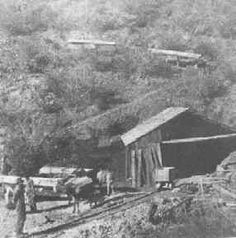 Cox, Arizona --- Dosoris Cox discovered the mine in 1881 and named it for his boyhood home. Over $500,000 was produced in silver and a stage line began running to Prescott. A post office was opened in July 1883. A 30 burro pack train hauled ore to Howells and Walker. Only 100 feet below the surface the ore played out and so did Cox. COX REMAINS A GHOST TOWN TODAY.