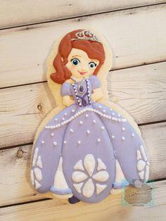 Sophia the First sugar cookie Keri's Kreations