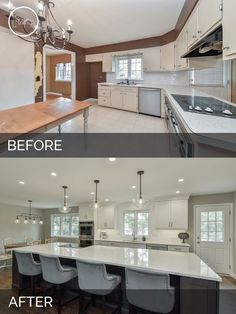 142 best before after kitchen remodeling projects images in 2019 rh pinterest com