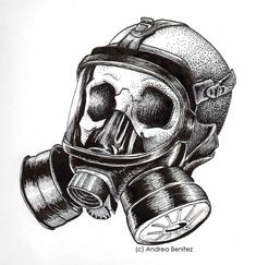 The gas mask is a mask used to protect the wearer from inhaling ...
