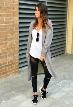 146 cute sporty outfits ideas try this fall – page 1 Cute Sporty Outfits, Cute Outfits With Leggings, Legging Outfits, Leggings Fashion, Chic Outfits, Spring Outfits, Trendy Outfits, Fashion Outfits, Womens Fashion