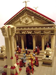 LEGO Roman Temple