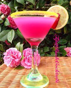 Pretty Princess Tini... Build in Cocktail shaker with ice 1 1/2 oz Svedka Strawberry Lemon Vodka 1 1/2 oz Deep Eddy Lemon Vodka 2 oz SoBe Strawberry Daiquiri  Line rim with yellow sugar and garnish with a lemon wheel and enjoy!!
