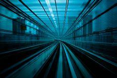 """""""Deep blue: Speed"""" by manganite - Tokyo, Japan"""