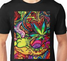 Dcustomwatch Ancient Aztec graffity Trippy Psychedelic Design 3D Full Print T-Shirt