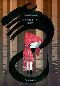 Caperucita Roja - geschreven door Charles Perrault