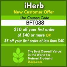 IHerb #discount on your order use BFT088 #vitamin #supplements #superfoods