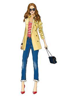 #AnnaLazareva #fashion #illustration #teen #digitalillustration #digital #clothing @Lindgren Smith