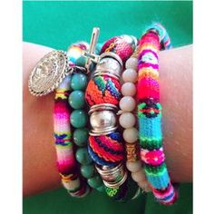 Ibiza armbanden...