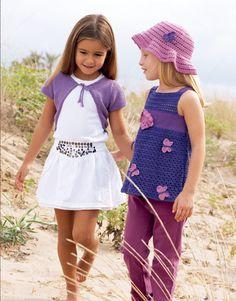 Revista Niños 57 Primavera / Verano | 29: Niños Sombrero | Malva / Lila oscuro / Violeta