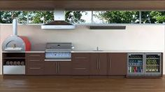 outdoor kitchen cabinet kits - Google Search