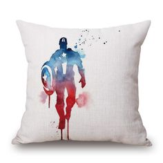 Abstract Superhero Cushion Covers