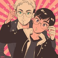 Yuri!!! on ICE, Christophe Giacometti, Phichit Chulanont