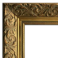 West Frames Bella Ornate Embossed Wood Picture Frame x with Plexiglass, Antique Gold) Picture Frame Sizes, Antique Picture Frames, Hanging Picture Frames, Gold Picture Frames, Antique Pictures, Hanging Pictures, Picture On Wood, Frames On Wall, Picture Wall