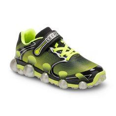 Stride Rite Leepz 2.0 Boys' Light-Up Sneakers, Size: 11, Black