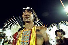 Karajá people from Tocantins, Brazil.