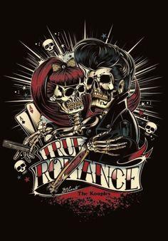 rockabilly skull tattoos - Αναζήτηση Google