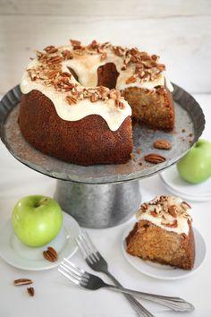 Layered Apple Harvest Cake | Sprinkle Bakes