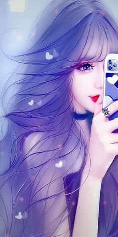 Cartoon Girl Images, Cute Cartoon Girl, Cartoon Girl Drawing, Anime Girl Drawings, Anime Girl Cute, Kawaii Anime Girl, Anime Backgrounds Wallpapers, Anime Scenery Wallpaper, Animes Wallpapers