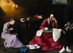 The House of Nazareth. Zurbarán. 1630. Oil on canvas. Museum of Art. Cleveland.