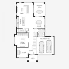 21 best small lot house floorplans images on pinterest house floor the bronte series two storey family home malvernweather Images