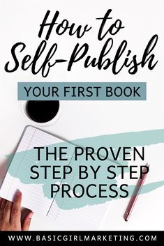 How to self-publish your first book. A proven step by step process to writing your first book and establishing yourself as an expert in your field! Resume Writing, Blog Writing, Writing A Book, Writing Tips, Creative Writing Techniques, Successful Business Tips, Online Blog, Blogging For Beginners, Blogging Ideas