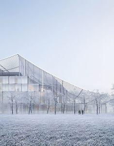 Sou Fujimoto Architects, Coldefy & Associés Architectes Urbanistes · Courthouse of Lille