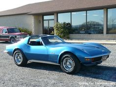 Check out this vette!   1972 Bright Blue Corvette     --  Classic C3 Corvettes for sale at Hobby Car Corvettes, the world's largest classic C3 Corvette dealer