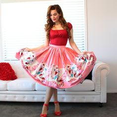 I just kinda feel like this skirt is perfection. I've never lusted after an item so hard in my life! Thank you @pinupgirlclothing for brightening my days with your beautiful,  made in America, well constructed clothing! #pinup #pinupgirl #pinupgirlclothing #coutureforeverybody #pinupgirlstyle #ootdsocialclub #maryblaircollection #maryblair