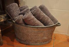 handdoeken opbergen