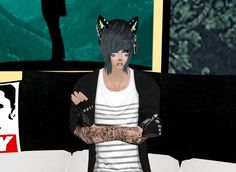 Captured Inside IMVU - Join the Fun! Virtual World, Virtual Reality, Imvu, Avatar, Join, Fictional Characters, Fantasy Characters