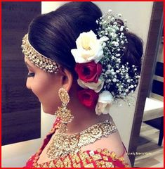wedding hairstyles indian Wedding Hairstyles with Flowers Best Of 46 Unique Wedding Hairstyles Updo with Bridesmaid Hair Bridal Hairstyle Indian Wedding, Unique Wedding Hairstyles, Boho Wedding Hair, Indian Bridal Hairstyles, Flower Girl Hairstyles, Short Wedding Hair, Dress Hairstyles, Wedding Updo, Hairstyle Ideas