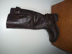 LILLEY & SKINNER BROWN MID CALF BROWN BIKER BOOTS SIZE 3 - HARDLY WORN - VGC! #LilleySkinner #MidCalfBoots #Casual