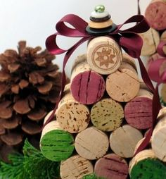 Simple handmade Christmas craft photos