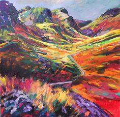 landscape painting by Julie Dumbarton. x