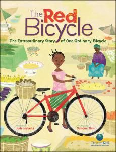 The Hardcover of the The Red Bicycle: The Extraordinary Story of One Ordinary Bicycle by Jude Isabella, Simone Shin Ambulance, Great Books, New Books, Character Education Lessons, Thing 1, Sustainable Development, Children's Literature, American Literature, Nonfiction