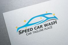 I just released Speed Car Wash Logo on Creative Market.