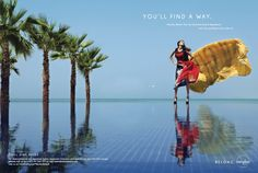 "gyro Dubai for Mayden Beach. ""You'll find a way.""--even parachute in!"
