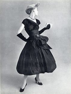 Lanvin-Castillo (Couture) 1951 Evening Dress