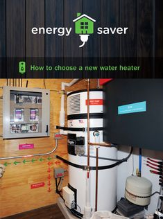 Buying a new water heater? Here's how to choose the right one for you. Energy Saver, Water Heating, Energy Efficiency, Solar Energy, Save Energy, Home Interior Design, Laundry Room, Household, Room Ideas